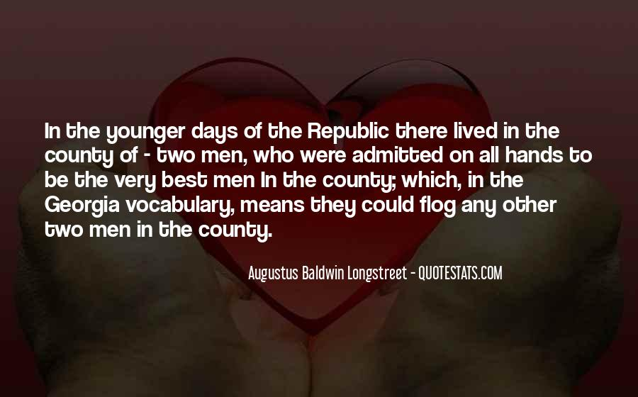 Augustus Baldwin Longstreet Quotes #1068123