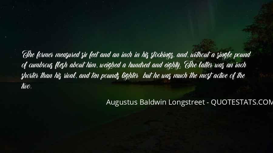 Augustus Baldwin Longstreet Quotes #155729