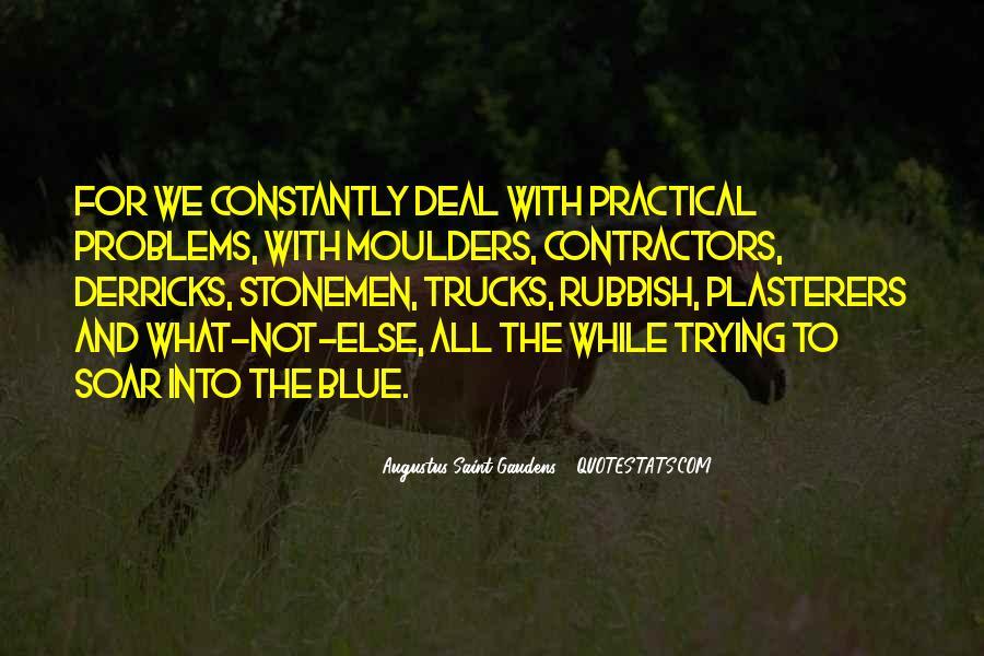 Augustus Saint-Gaudens Quotes #465708