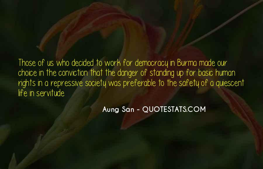 Aung San Quotes #313991