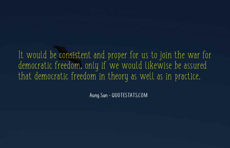 Aung San Quotes #576063