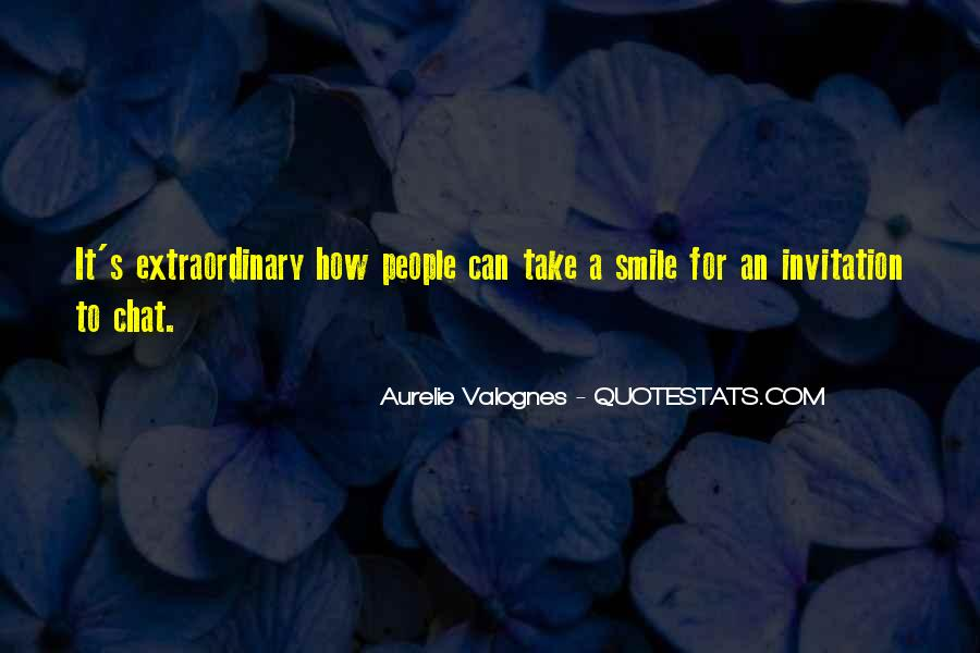 Aurelie Valognes Quotes #508061