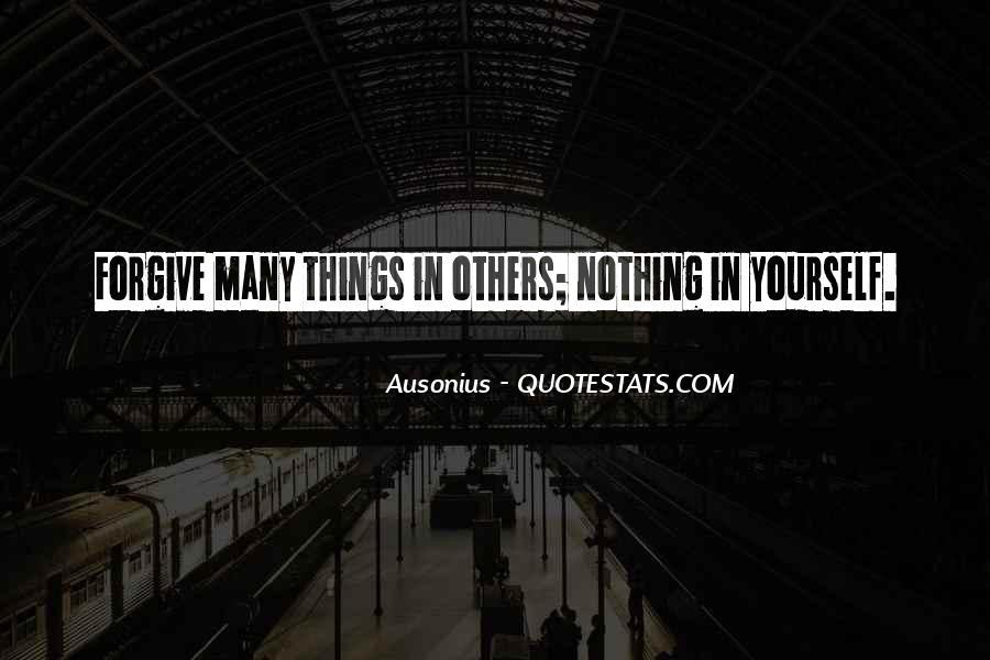 Ausonius Quotes #171837