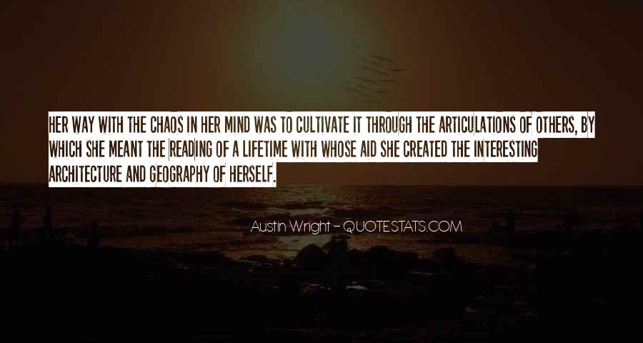 Austin Wright Quotes #389079