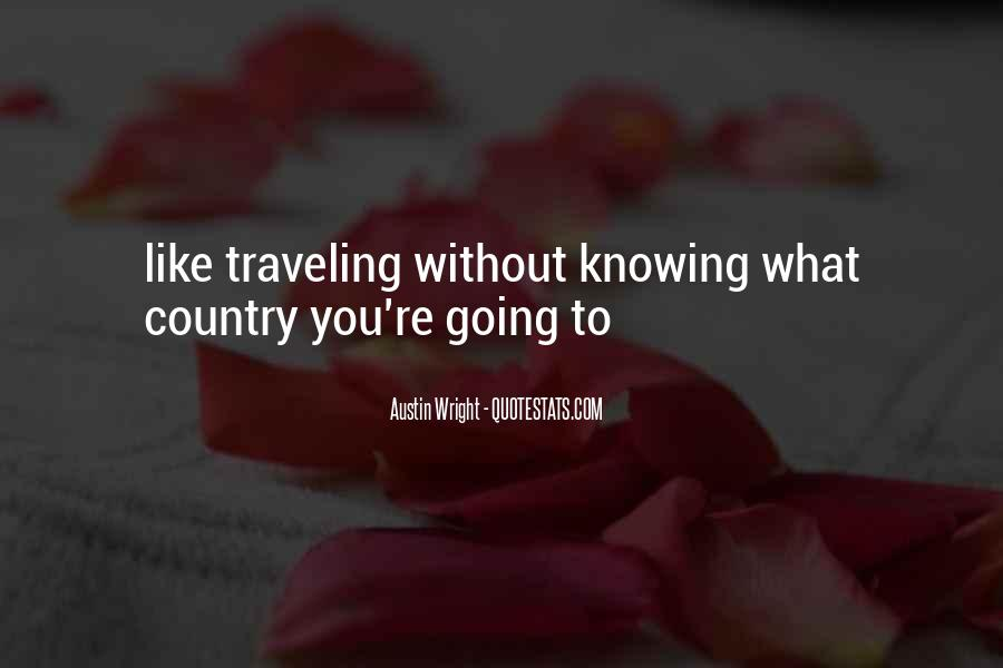 Austin Wright Quotes #938947