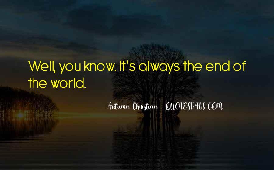 Autumn Christian Quotes #1299085