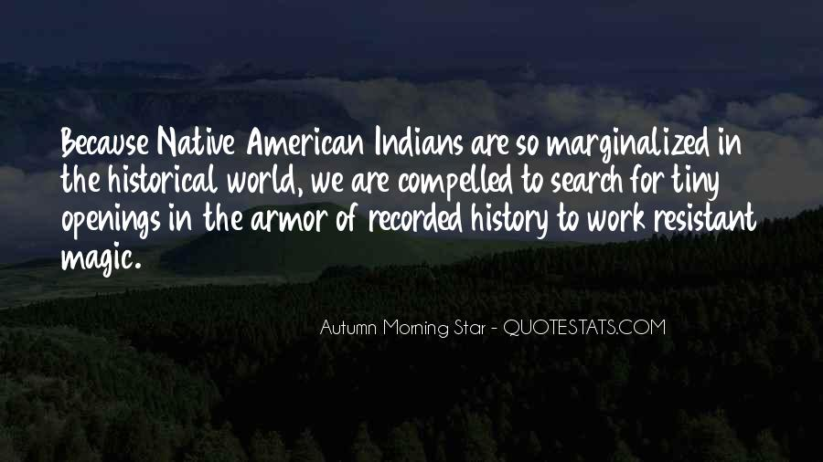 Autumn Morning Star Quotes #1781831