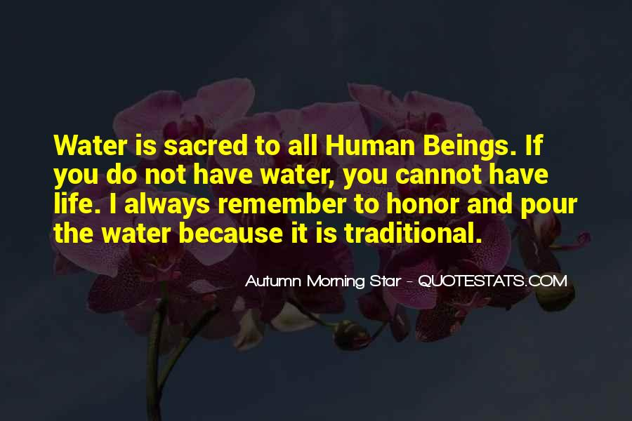 Autumn Morning Star Quotes #319798