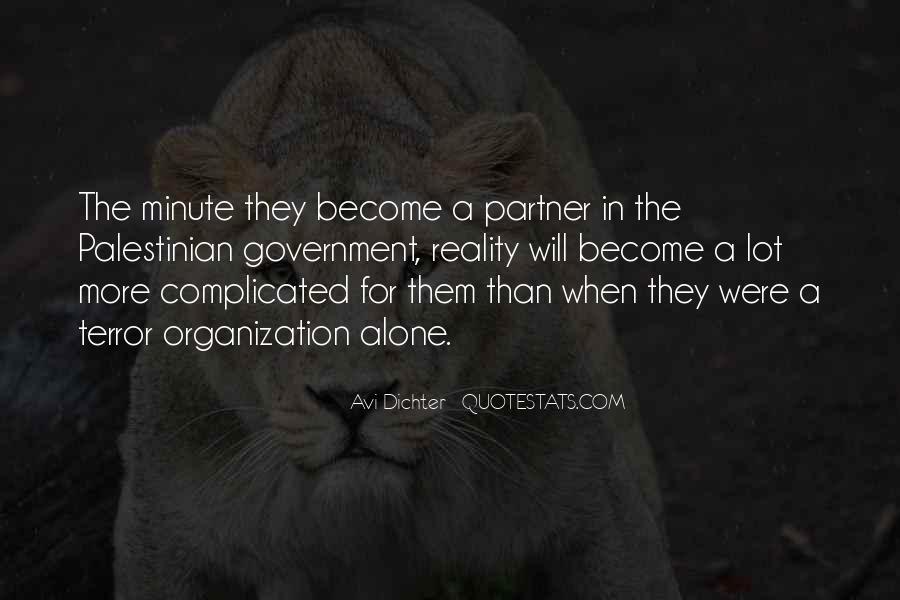 Avi Dichter Quotes #1768714