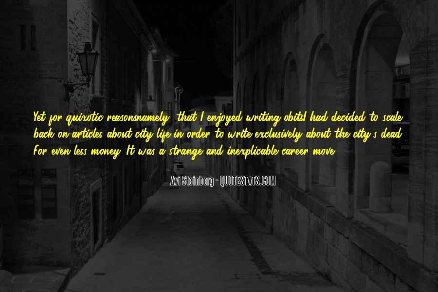 Avi Steinberg Quotes #1237300