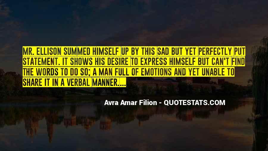 Avra Amar Filion Quotes #621352