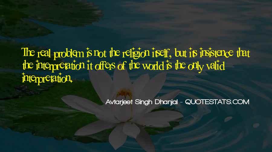 Avtarjeet Singh Dhanjal Quotes #1607181