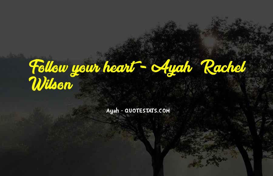 Ayah Quotes #1708058