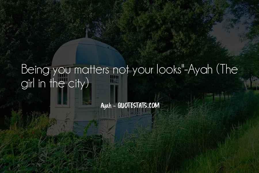 Ayah Quotes #535595