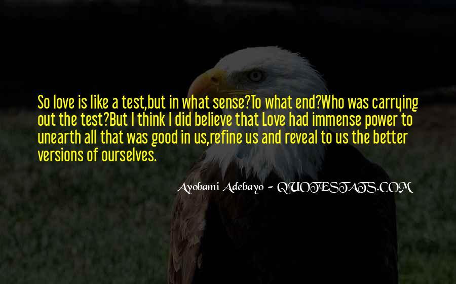 Ayobami Adebayo Quotes #625472