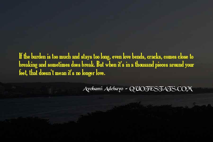 Ayobami Adebayo Quotes #724780