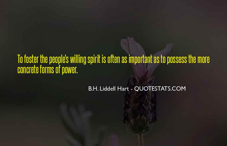 B.H. Liddell Hart Quotes #1492771