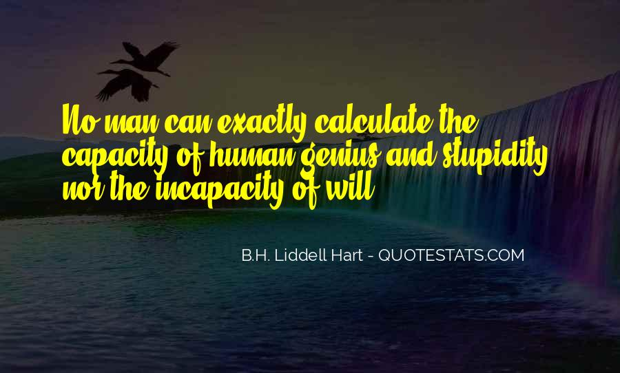 B.H. Liddell Hart Quotes #1498157