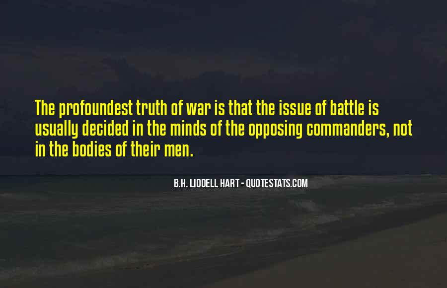 B.H. Liddell Hart Quotes #24357