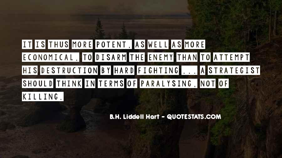 B.H. Liddell Hart Quotes #878782