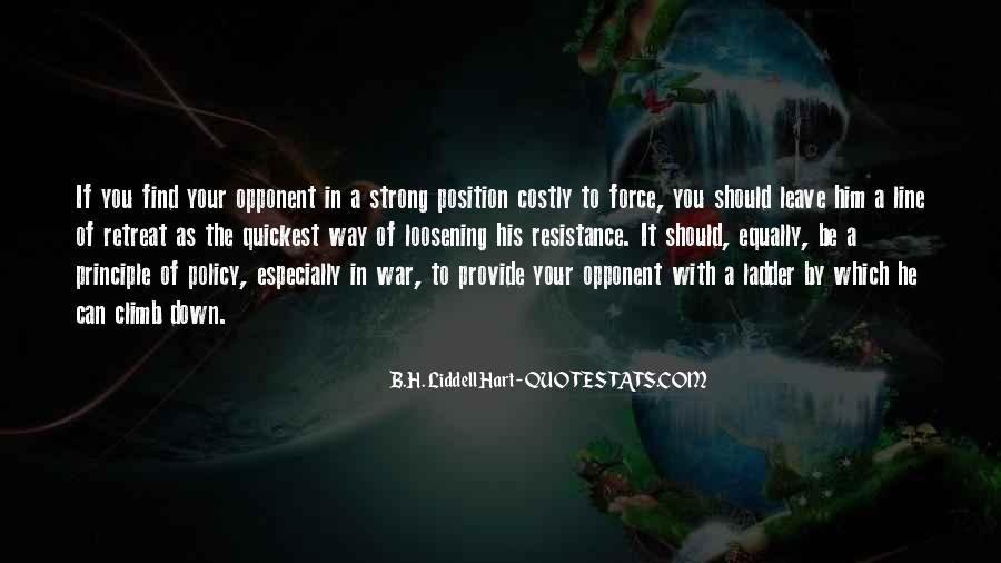 B.H. Liddell Hart Quotes #900744