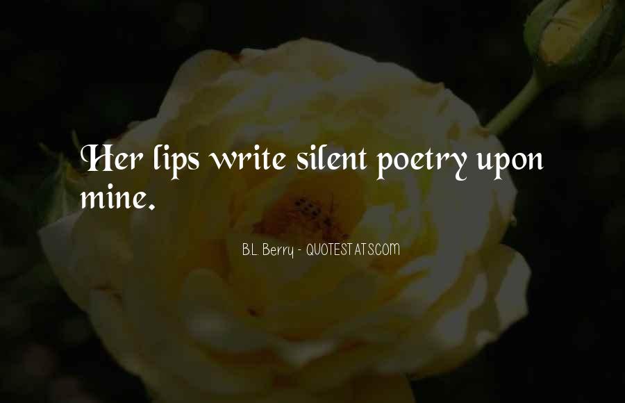 B.L. Berry Quotes #1004195