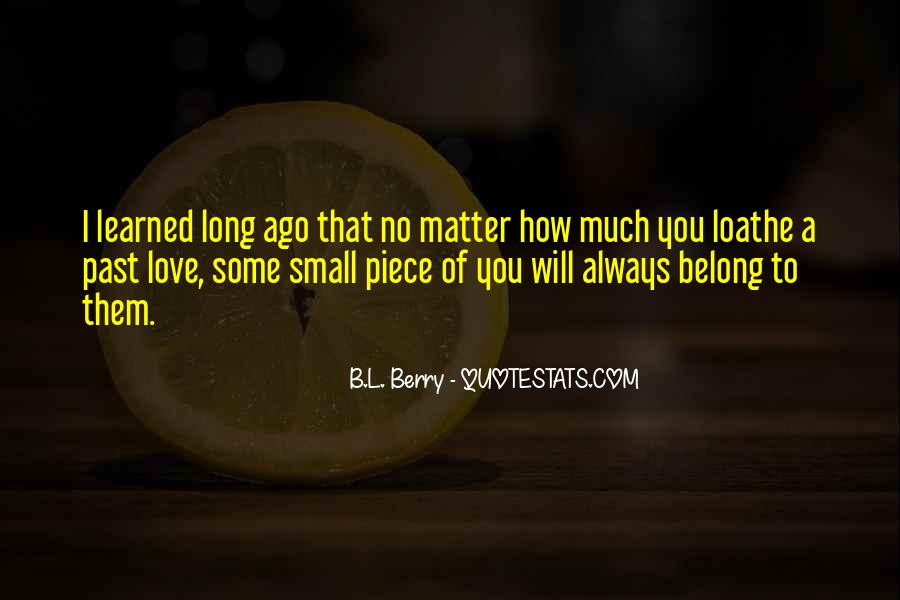B.L. Berry Quotes #1042064