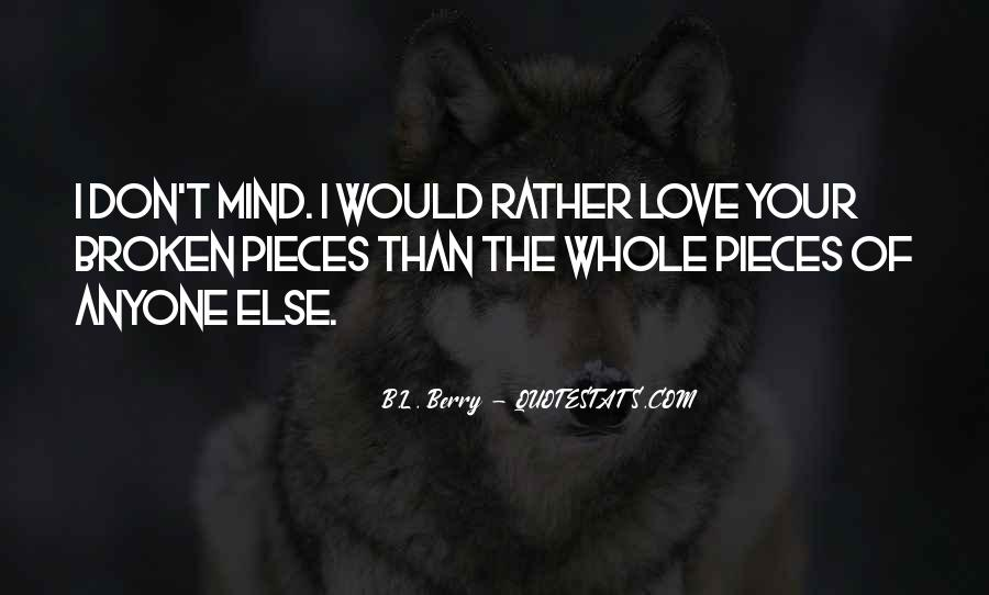 B.L. Berry Quotes #1411481