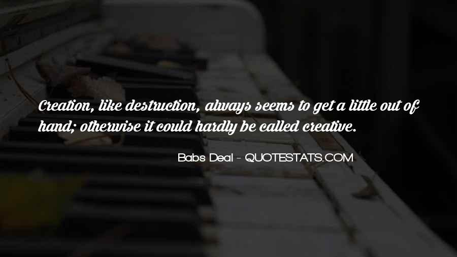 Babs Deal Quotes #1251910