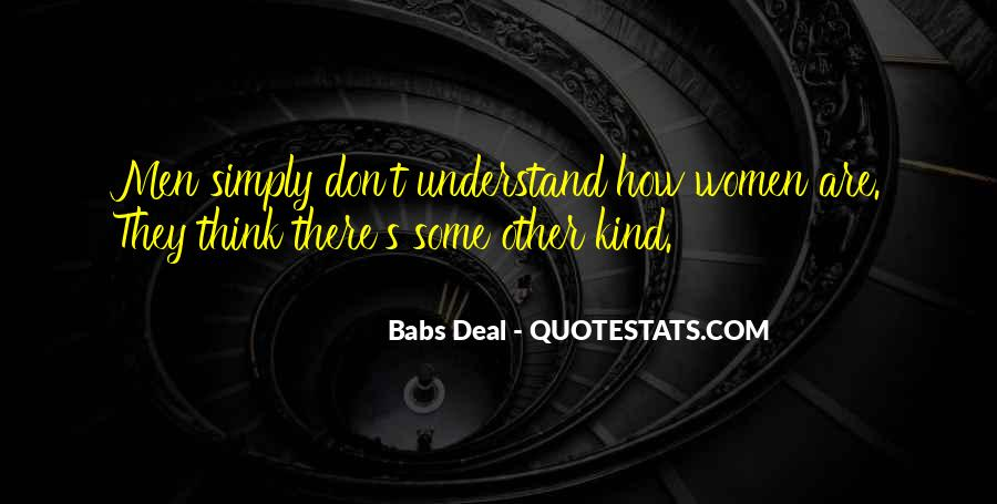 Babs Deal Quotes #649029