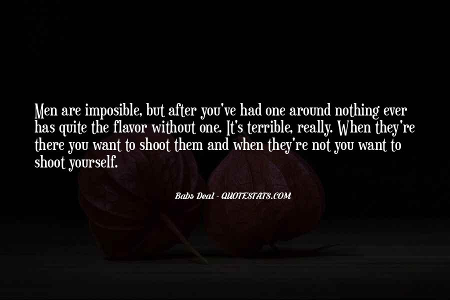 Babs Deal Quotes #946960
