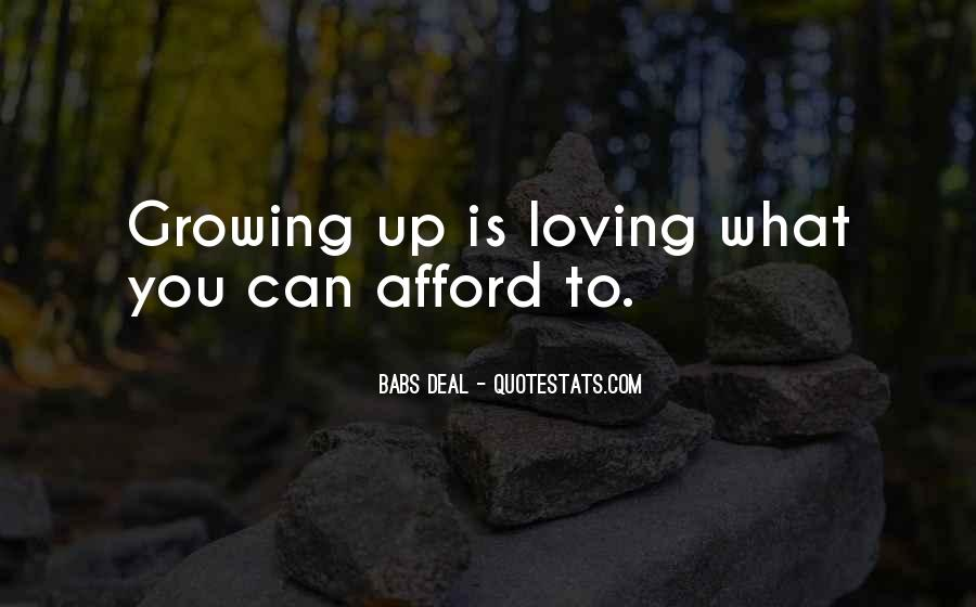 Babs Deal Quotes #989834