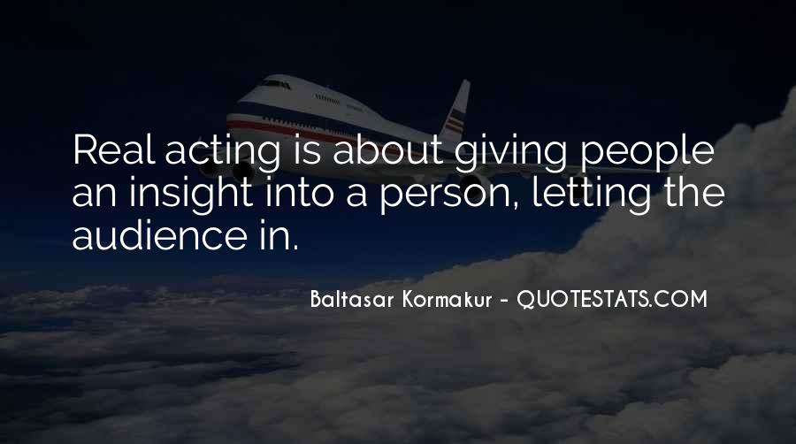 Baltasar Kormakur Quotes #1006677