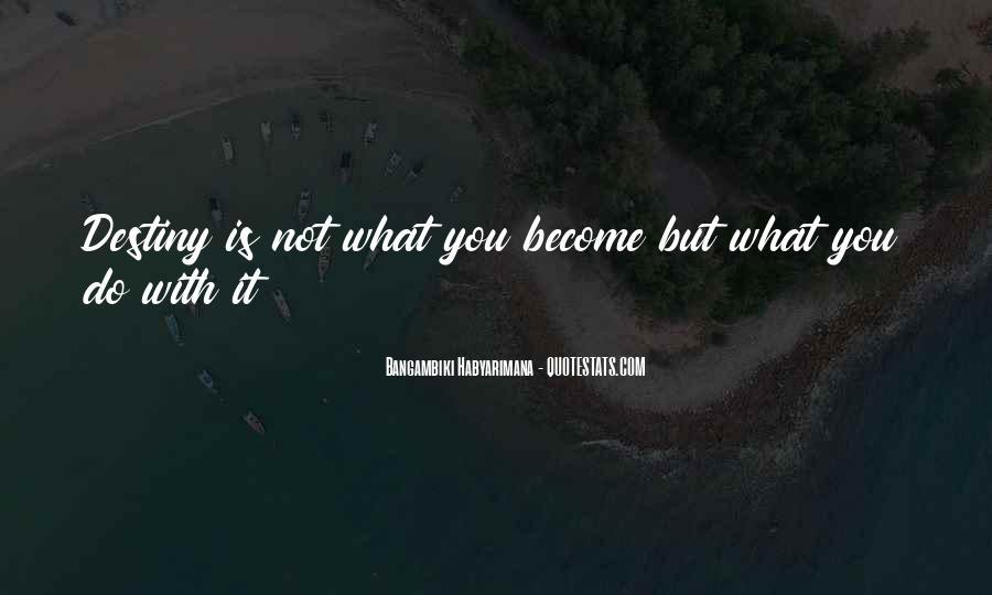 Bangambiki Habyarimana Quotes #1097717