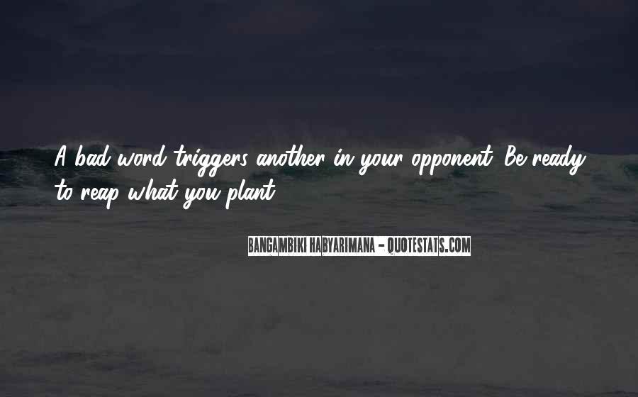 Bangambiki Habyarimana Quotes #1105595
