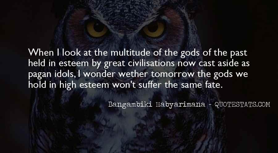 Bangambiki Habyarimana Quotes #1284287