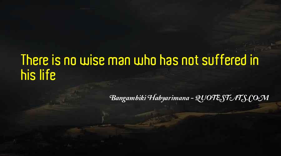 Bangambiki Habyarimana Quotes #1289446