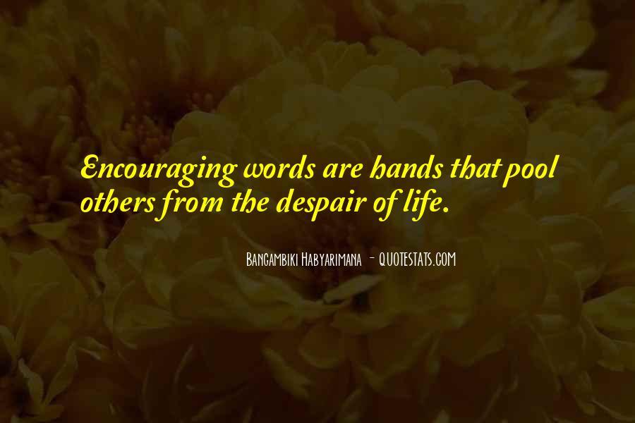 Bangambiki Habyarimana Quotes #1319662