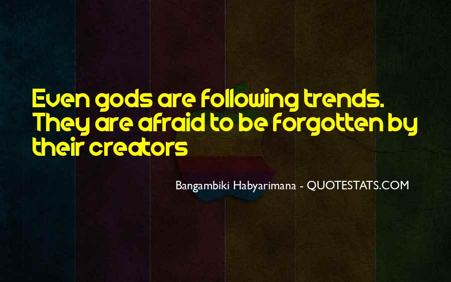 Bangambiki Habyarimana Quotes #1368586
