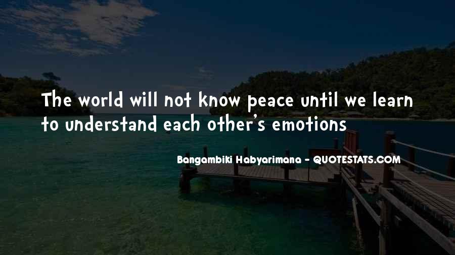 Bangambiki Habyarimana Quotes #1405673