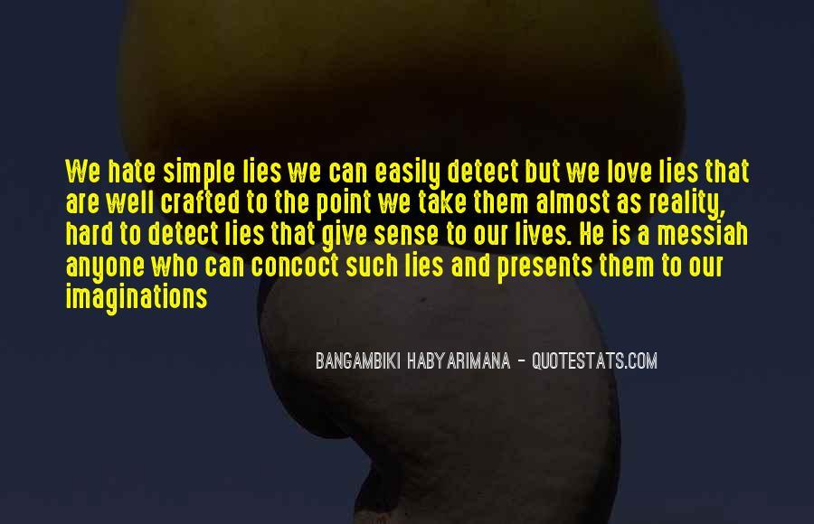 Bangambiki Habyarimana Quotes #1609076