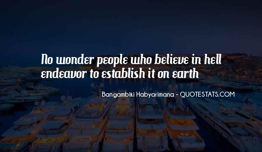 Bangambiki Habyarimana Quotes #1646605