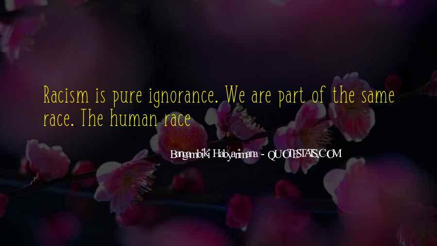 Bangambiki Habyarimana Quotes #1657804