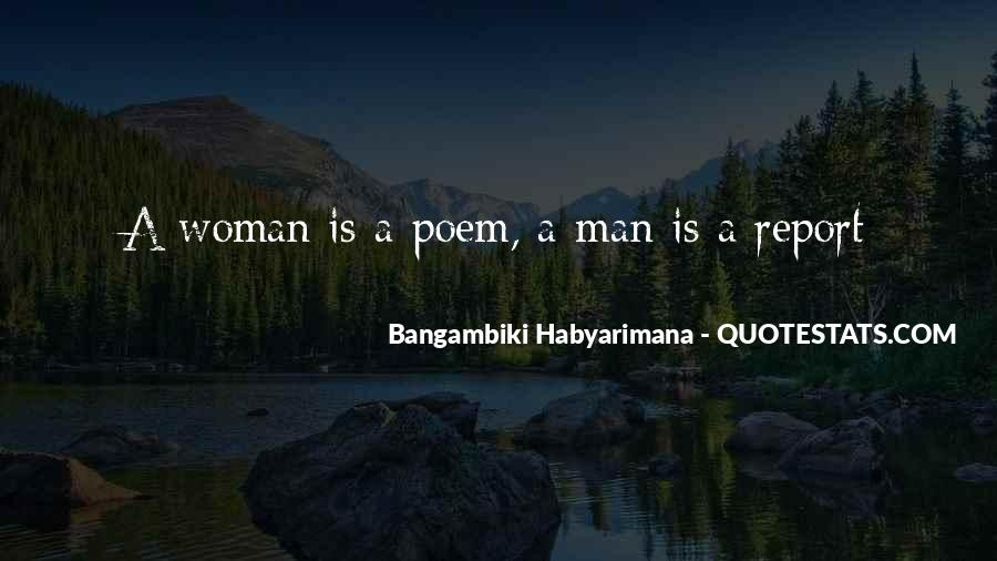 Bangambiki Habyarimana Quotes #1801771