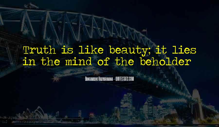 Bangambiki Habyarimana Quotes #216758