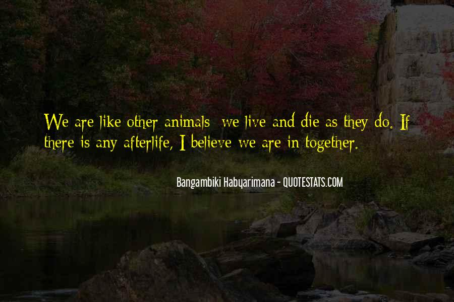 Bangambiki Habyarimana Quotes #33310