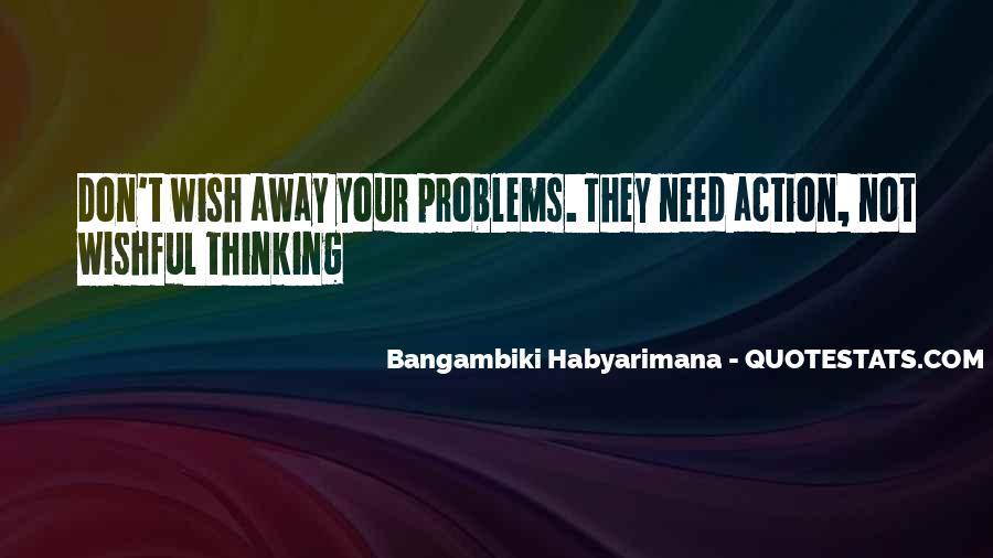 Bangambiki Habyarimana Quotes #347275