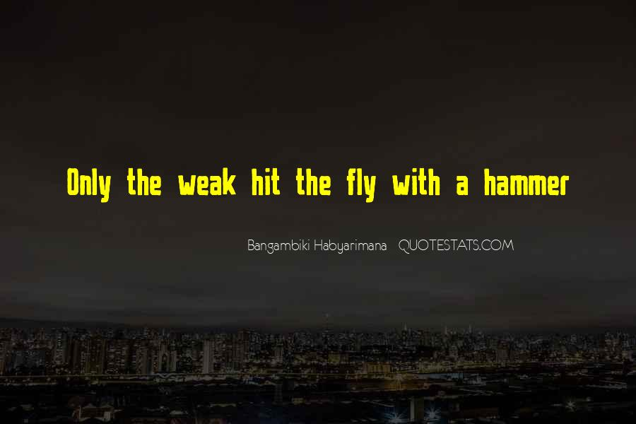 Bangambiki Habyarimana Quotes #419996