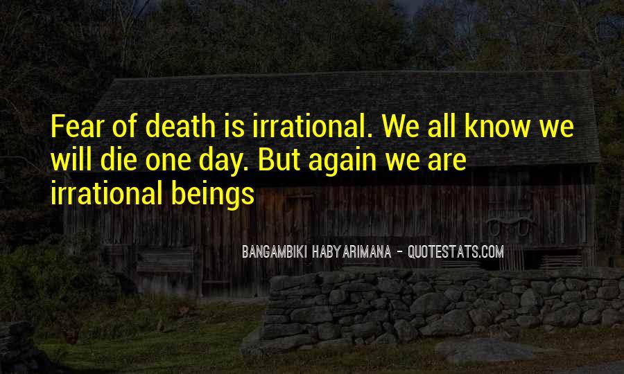 Bangambiki Habyarimana Quotes #466008