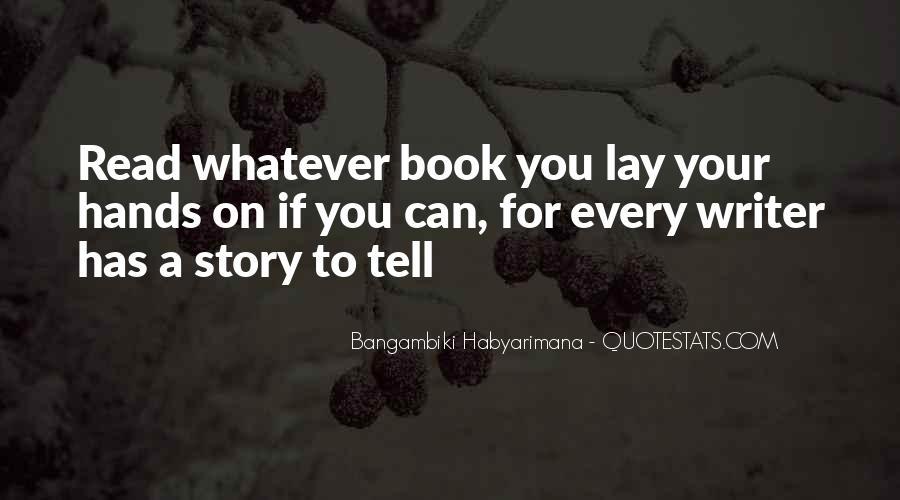 Bangambiki Habyarimana Quotes #523099